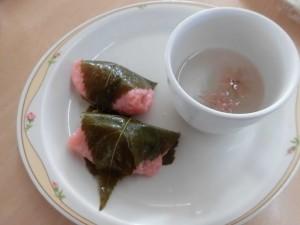 桜餅 写真1